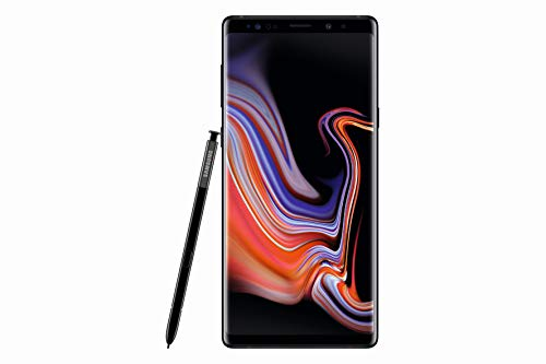 "Samsung Galaxy Note9 Display 6.4"", 128 GB Espandibili, RAM 6 GB, Batteria 4000 mAh, 4G, Dual SIM Smartphone, Android 8.1.0 Oreo, Nero (Midnight)"