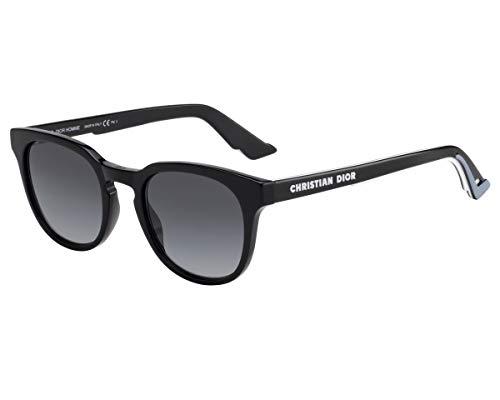 Dior Homme Sonnenbrillen (DIORB24.2 8079O) schwarz glänzend - weiß - grau