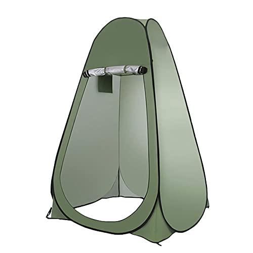 Tienda ducha cambiador CAMBIO DE CAMBIO DE DUCHA POP-UP, Tienda de privacidad, Camping portátil de camping de campaña, toldo de la playa de 6,2 pies de altura, tiendas de pesca de lluvia y protección