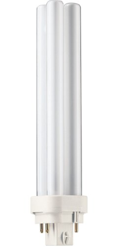 Philips 230425 Energy Saver Compact Fluorescent Non-Integrated 26-Watt PL-C Soft White 4-Pin Base Light Bulb