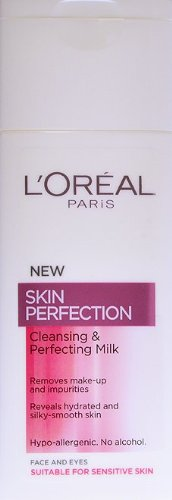 L'Oreal Skin Perfection Leche Exfoliante y Limpiadora - 200 ml ml
