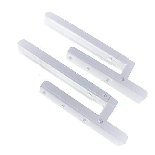 Soportes de estante para microondas blanco