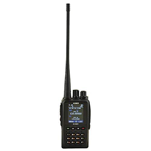 Radio portátil VHF/UHF PNI Alinco DJ-MD5, DMR, 4000CH, Scan, VOX, Radio FM,...