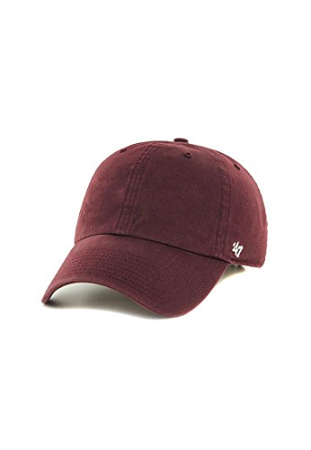 47 Classic Clean Up Cap Maroon Red…
