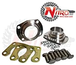 Nitro Gear NPF9WOEK-FSJK Fits Ford 9 Inch Housing End Kit 1/2 Inch Holes Big Bearing Weld On Ends Retainer Plates T-Bolts Nuts Nitro Gear and Axle NPF9WOEK