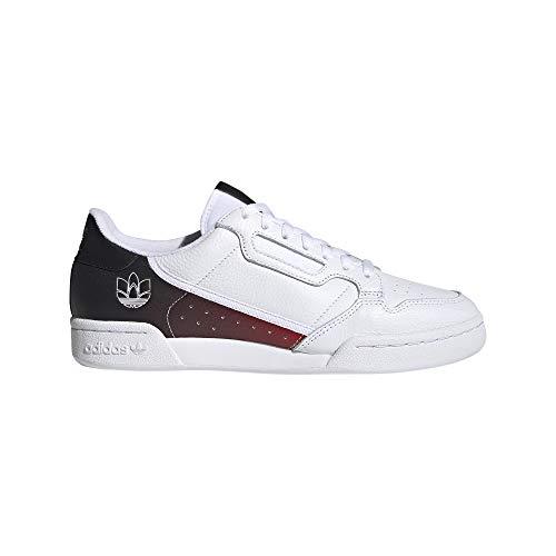 adidas Continental 80, Zapatillas Deportivas Hombre, FTWR White Core Black FTWR White, 44 EU