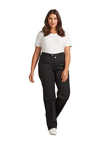 Zizzi Gemma Damen High Waist Jeans Slim Stretch Hochschnitt Große...