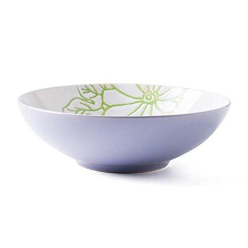 Servies Liuyu Keuken Thuis 8 Inch Thuis Keramische Creatieve Persoonlijkheid Grote Soep Bowl Soep Basin Schaal Vruchten Salade Bowl Blauw