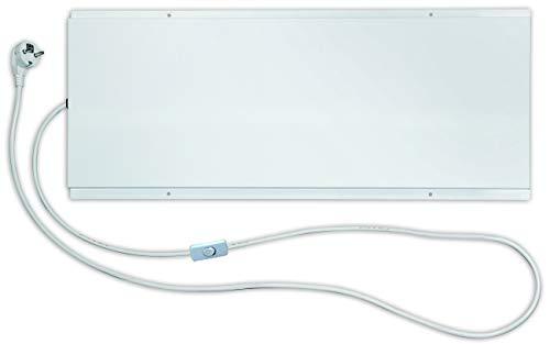 ETHERMA LAVA® DESK 120 Untertisch-Infrarotheizung, 120 W, 28 x 70 x 1,5 cm, Oberfläche: Glatte Oberfläche, Made in Austria, 5 Jahre Garantie, LAVA-Desk-120
