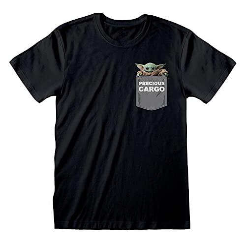 Mens Star Wars The Mandalorian T Shirt The Child Precious Tee