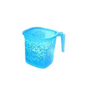 Nayasa Plastic Bucket And Matching Mug, Blue, 25 L