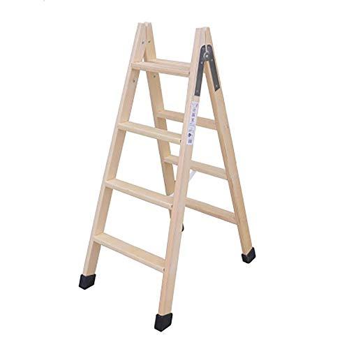 Escalera madera plegable tijera c/tacos 3 peldaños