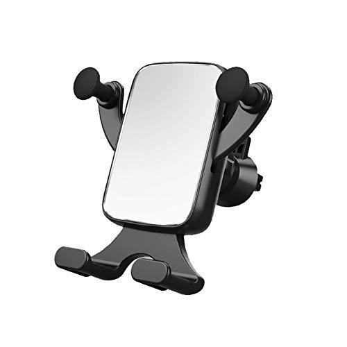 Houder voor mobiele telefoons, universeel display van metaal horizontaal en verticaal op Gravità telescopisch met draaiing vrijstaand stopcontact voor auto navigatie houder voor mobiele telefoon zilver