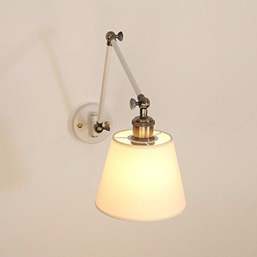 JJZHG wandlamp wandlamp waterdichte wandverlichting slaapkamer kamer nacht rocker muur lampenkap spiegel voorlicht omvat: wandlamp, stoere wandlampen, wandlampen design