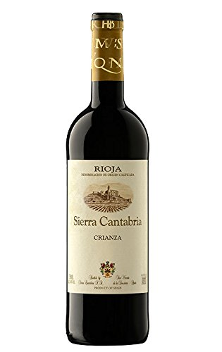 Sierra Cantabria Crianza - Vino Tinto - 6 Botellas