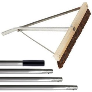 Garelick 21-Foot-Long Leaf Roof Brush