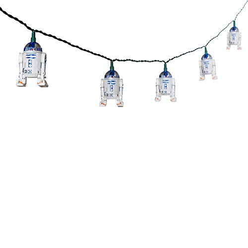 Star Wars Kurt S. Adler 10-Light R2D2 Light Set