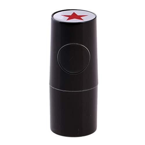 F Fityle Estampilla de Bolas de Golf de Diseño Personalizada de Forma Ballena, Flor y Estrella para Fútbol Baloncesto Tenis - Estrella, 53cm
