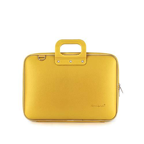 Bombata Classic Hardcase Laptoptas 15 inch Geel