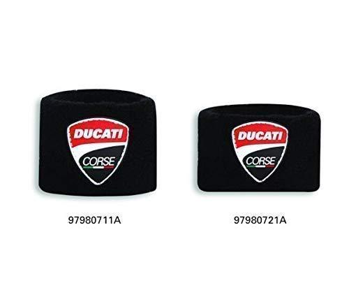 Ducati Corse Manschette der Brems- ODER Kupplungsflüssigkeitsbehälter schwarz Größe Kupplungsbehälter Manschette