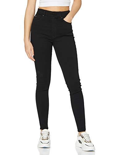 G-STAR RAW Damen Kafey Ultra High Waist Skinny Jeans, Schwarz (Pitch Black B964-A810), 27W / 30L