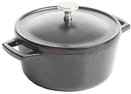Pre-Seasoned Cast-Iron 4-Inch Mini Dutch Oven **Not used to cook the recipe but used in photos**