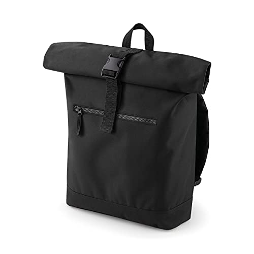 Roll Top Backpack - Made from 600D Polyester - Rucksack for Leisure College and School -...