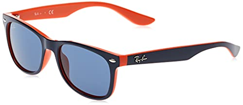 RAY BAN JUNIOR - 9052S - Lunettes de soleil mixte, top blue on orange