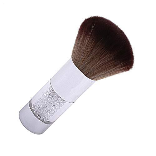 Redcolourful Poudre Dissolvant Nettoyeur Brosse de Maquillage Soft Base Acrylique Nail Art Polissoir Brosse