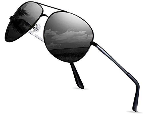 LEDING&BEST Occhiali da sole polarizzati uomo...
