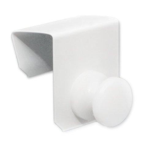 4er Set Tür Fensterhaken weiß (Fensterdicke 20-23mm)