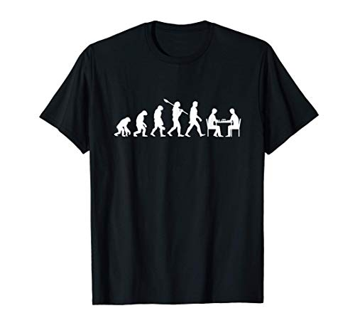 Evolution Chess Player Chess Set Chessmen Camiseta