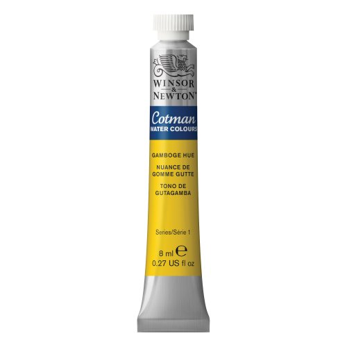 Winsor & Newton , Gamboge Hue Cotman Water Colour Paint, 8ml tube, 8-ml