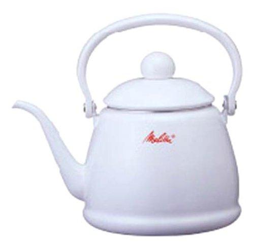 Melitta 細口コーヒーケトル2L MJ-2154(ホワイト)の詳細を見る