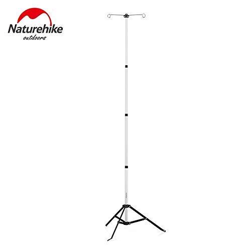 Naturehike Support de Lampe réglable en Alliage d'aluminium de Support de lumière Ajustable portatif Camping Accessoires de Voyage NH17D015-J