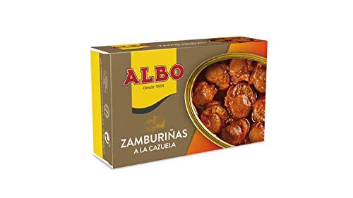Albo Span. Kammmuscheln Zamburinas, 4er Pack (4 x 115 g)