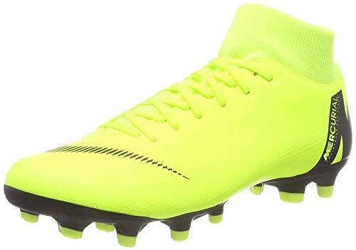 Nike Superfly 6 Academy Fg/MG, Scarpe da Calcio Unisex-Adulto, Verde (Volt/Black 701), 42.5 EU