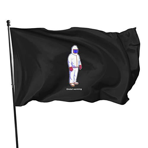N/D Global Wärmeanzug-Flagge, 91 x 152 cm
