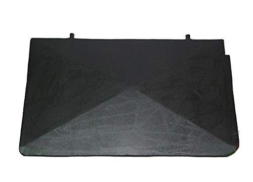 Deflektor aus Gusseisen für Kamin Ofen Kohleofen Holzofen Steinofen | Maße: 535x330 mm