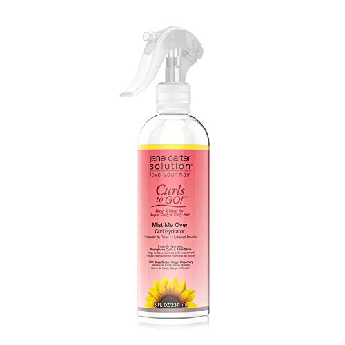 Price comparison product image Jane Carter Solution Curls to Go Conditioning Mist (8oz) - Hydrating (Mist Me Over)