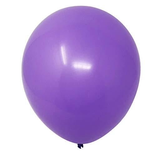 Allgala 100ct 12' Helium Grade Premium Latex Balloons-Purple-BL52008