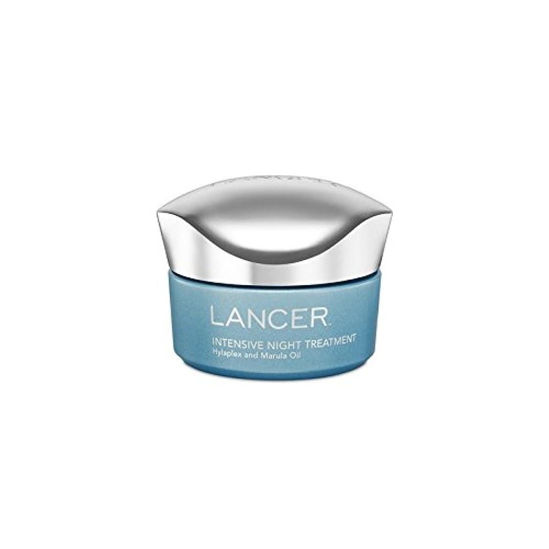 キャンセル手錠滑り台Lancer Skincare Intensive Night Treatment (50ml) (Pack of 6) - ランサースキンケア集中的な夜の治療(50ミリリットル) x6 [並行輸入品]