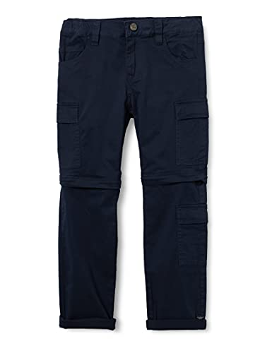 NAME IT Jungen NKMBARRY TWIALS Zip Off Pant DH Cargohose, Dark Sapphire, 122