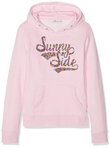 TOM TAILOR Kids Mädchen Placed Print Sweatshirt, Rosa (Sweet Lilac|Rose 2010), (Herstellergröße: 152)