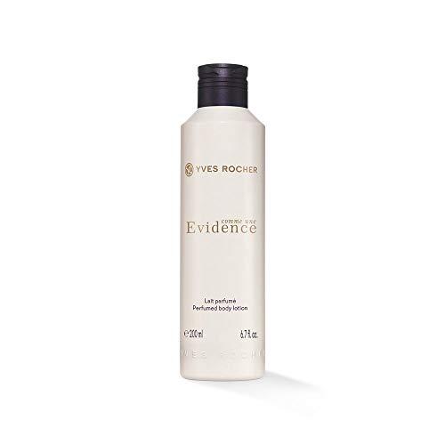 Yves Rocher COMME UNE EVIDENCE Körpermilch, Body Milk mit blumigem Duft, parfümierte Hautpflege, 1 x Flacon 200 ml