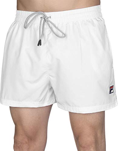 Fila Seal Badeshorts Bright White