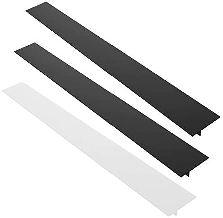 3 Pack 25 Silicone Kitchen Stove Counter Gap Filler Cover AIFUDA Heat Resistant Spill Guard product image