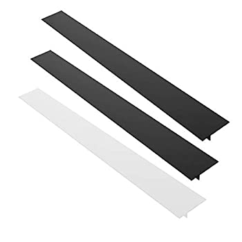 3 Pack 25   Silicone Kitchen Stove Counter Gap Filler Cover AIFUDA Heat-Resistant Spill Guard Seals for Kitchen Cooker Work Surface Stovetop Oven Washer Dryer