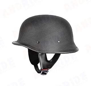 Andride German Style Half Helmet (Matte Black)