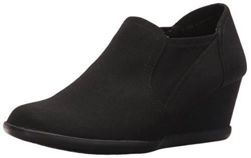 Aerosoles Women's Retro Fit Slip-On Loafer, Black Fabric, 8 M US